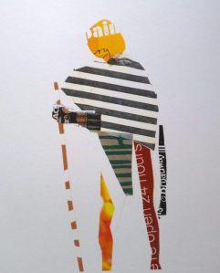 Gandhi Union Square Collage by William Eaton