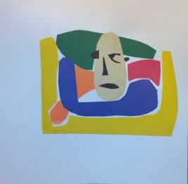 William Eaton, cut-out, based on 13th century sculpture - 2nd crop
