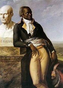 Anne-Louis Girodet de Roucy Trioson, Portrait of J.B. Belley, Deputy for Saint-Domingue, circa 1797