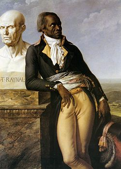 Anne-Louis Girodet de Roucy Trioson, Portrait of J.B. Belley, Deputy for Saint-Domingue, circa 1797