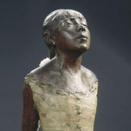 Edgar Degas, La petite danseuse de quatorze ans, partial image of refabrication, Musée d'Orsay