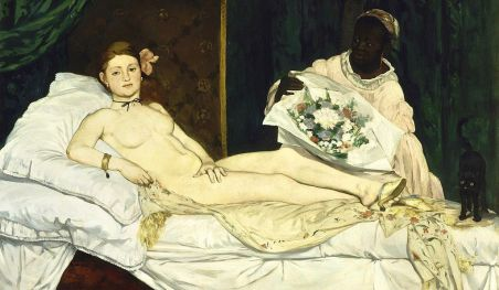 Edouard Manet, Olympia (1963), Musée d'Orsay