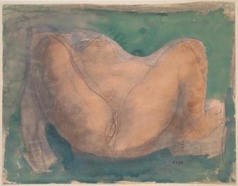 Rodin, Avant la création, circa 1900, Musée Rodin