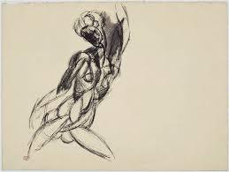 Picasso, Femme nue au bras levé, 1909, Musée Picasso, Paris