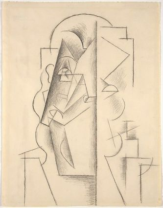 Picasso, Head of a Man, MET